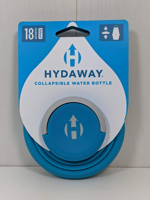 Hydaway Collapsible Water Bottle Electric Blue