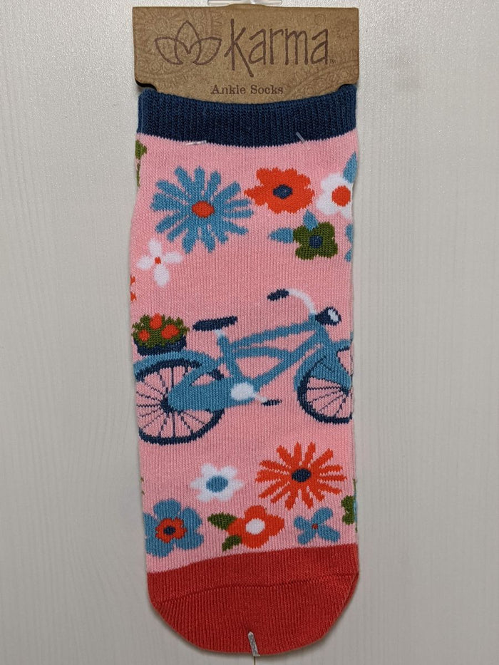 Karma Ankle Socks Bike