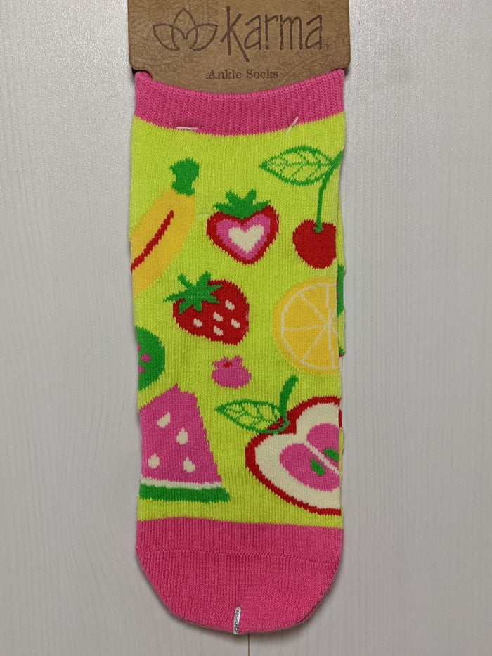 Karma Ankle Socks Fruit