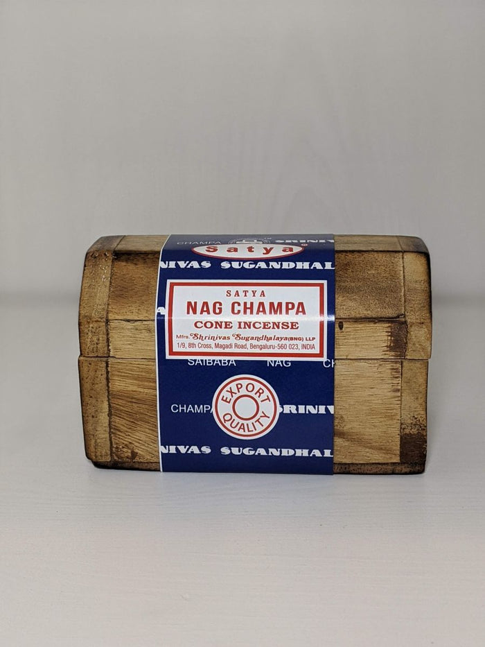 Nag Champa Cone Incense And Holder