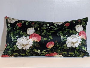 Silk Peony Pillow Small