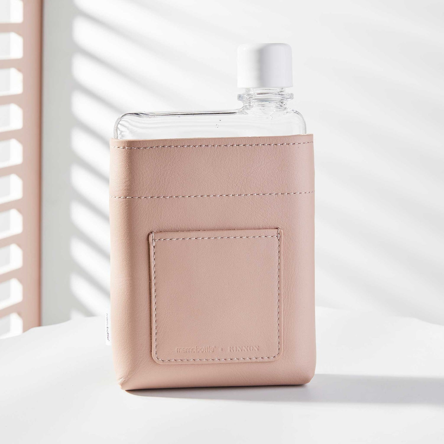 A6 Leather Sleeve - Nude