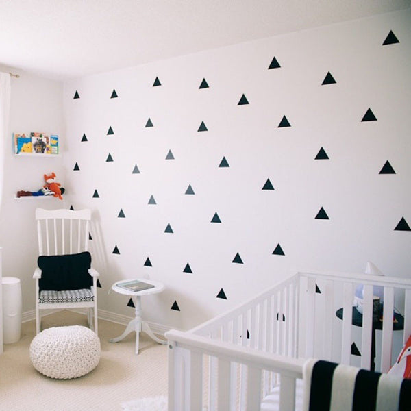 Sold Out Wall Sticker   Triangles