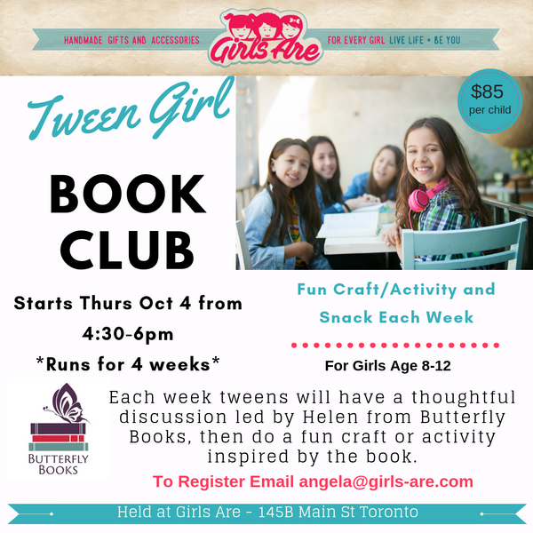 Tween Girl Book Club