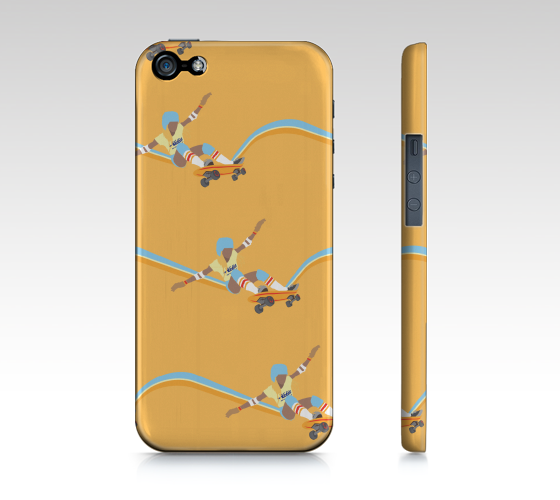 iPhone Case 5 / 5S |  Skateboard by Monsieur Clown - Monsieur Clown