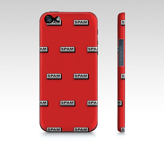iPhone Case 5 / 5S | SPAM by Monsieur Clown - Monsieur Clown