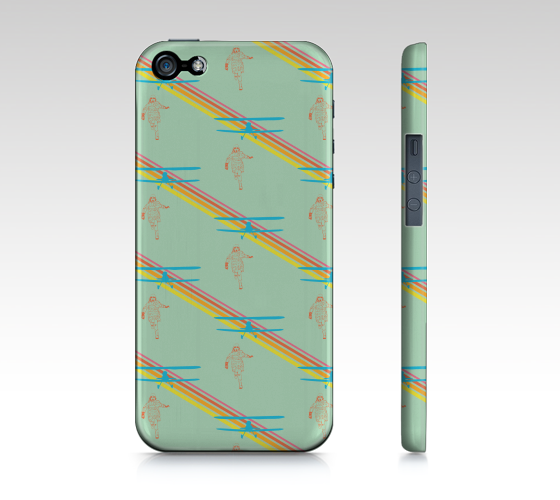 iPhone Case 5 / 5S | Run by Monsieur Clown - Monsieur Clown