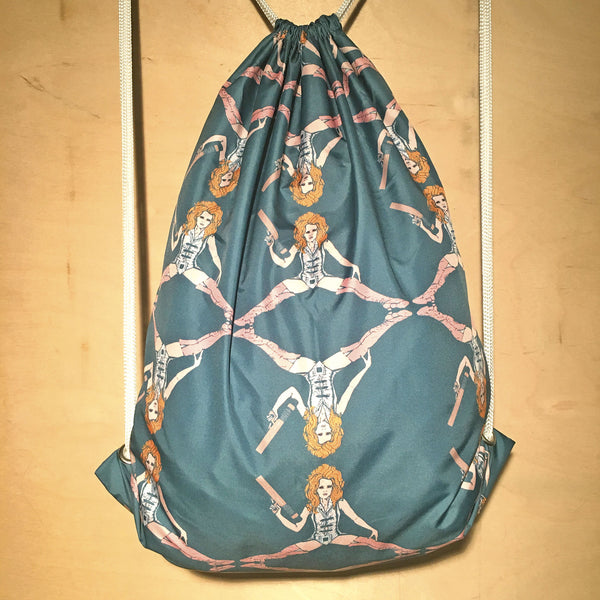 Drawstring Bag | Barbarella by Monsieur Clown