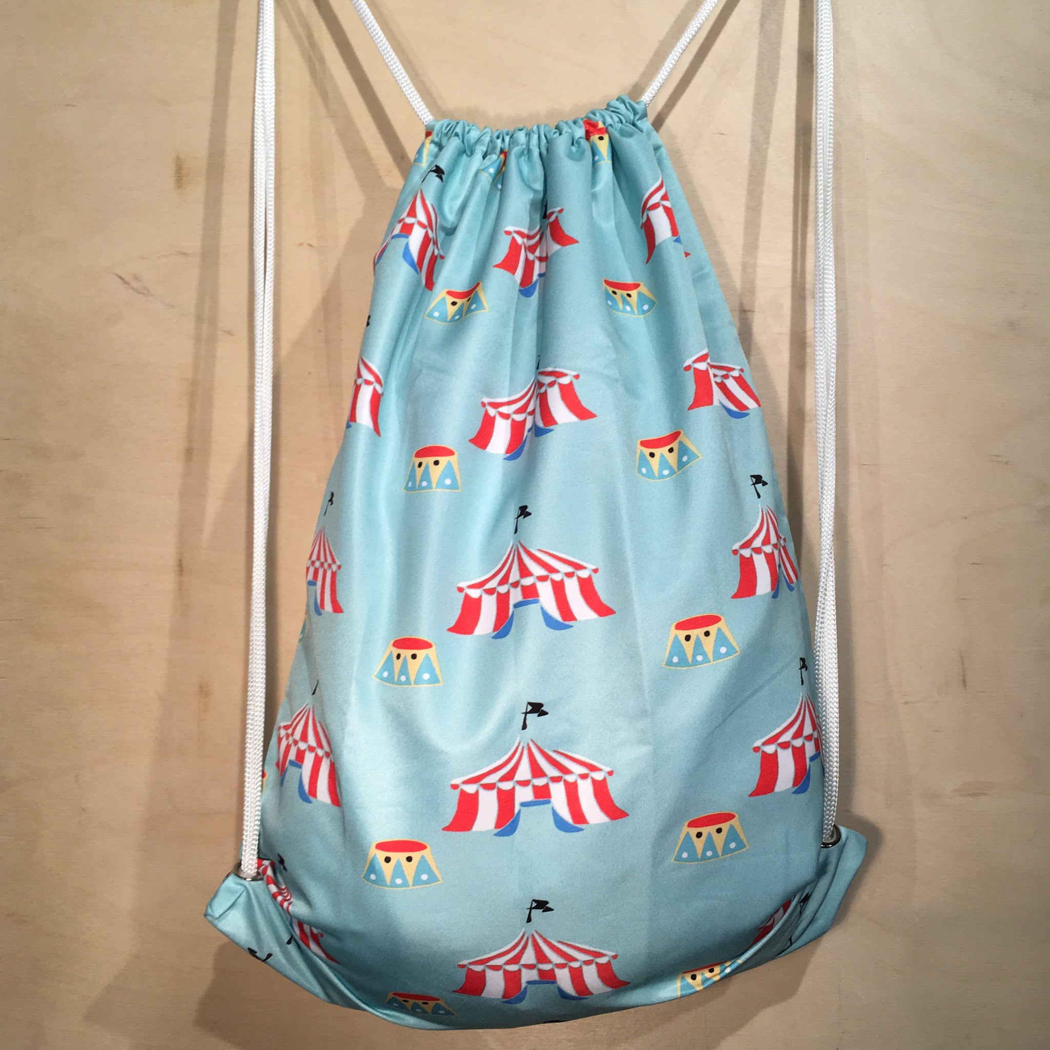 Drawstring Bag | Tent by Monsieur Clown - Monsieur Clown - 1