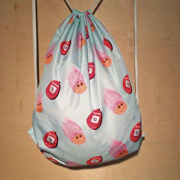 Drawstring Bag | Tamagotchi by Monsieur Clown