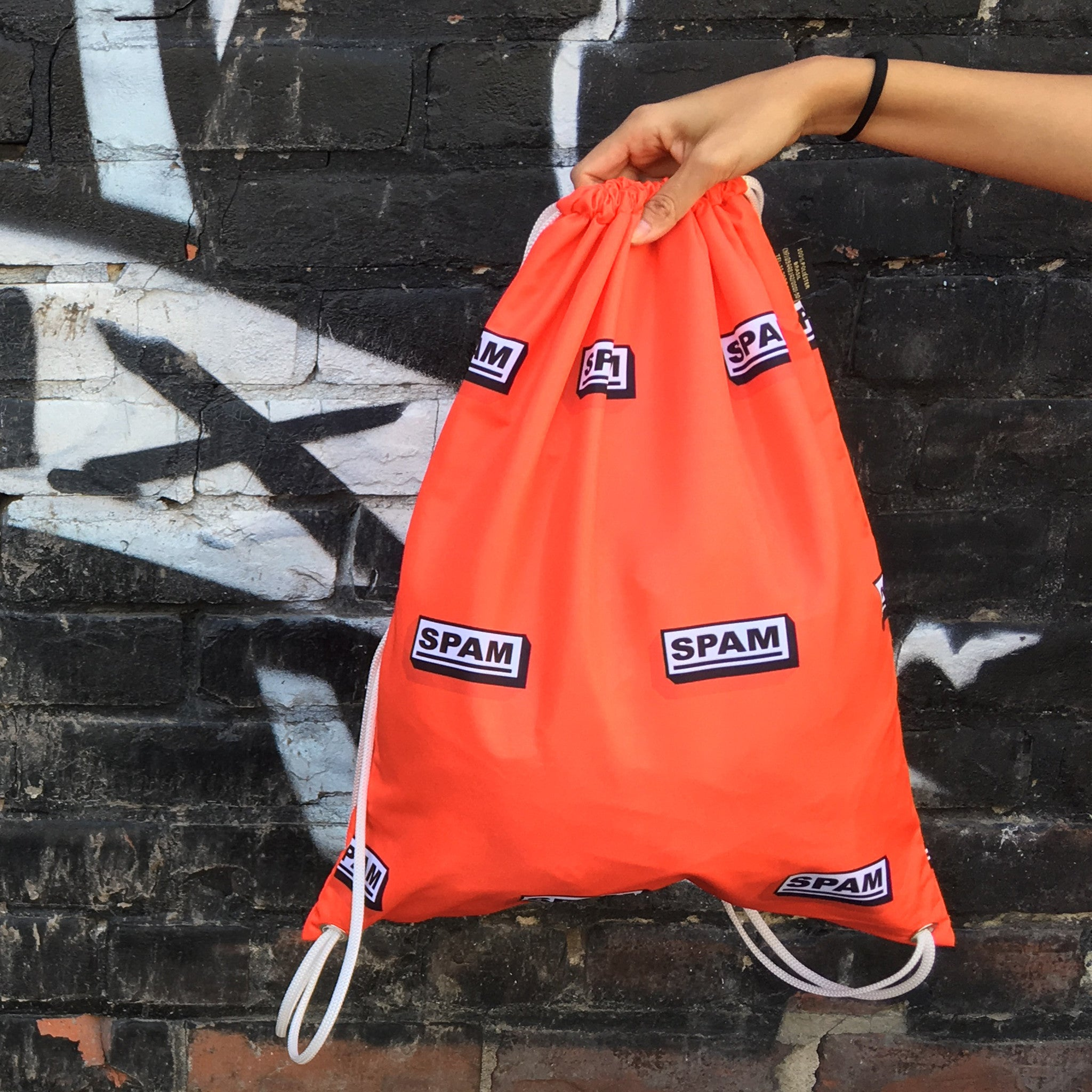 Drawstring Bag | SPAM by Monsieur Clown - Monsieur Clown - 1