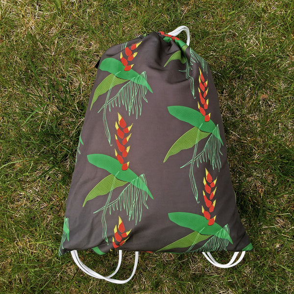 Drawstring Bag | Heliconia by Monsieur Clown - Monsieur Clown - 1
