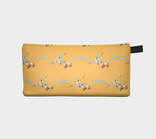 Pencil Case | Skateboard by Monsieur Clown - Monsieur Clown - 1