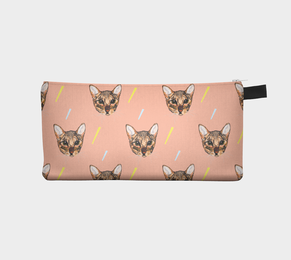 Pencil Case | Tigercat by Monsieur Clown - Monsieur Clown - 1