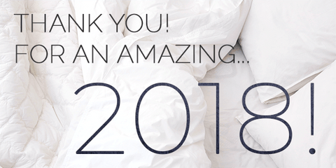 Thank you for an amazing 2018!