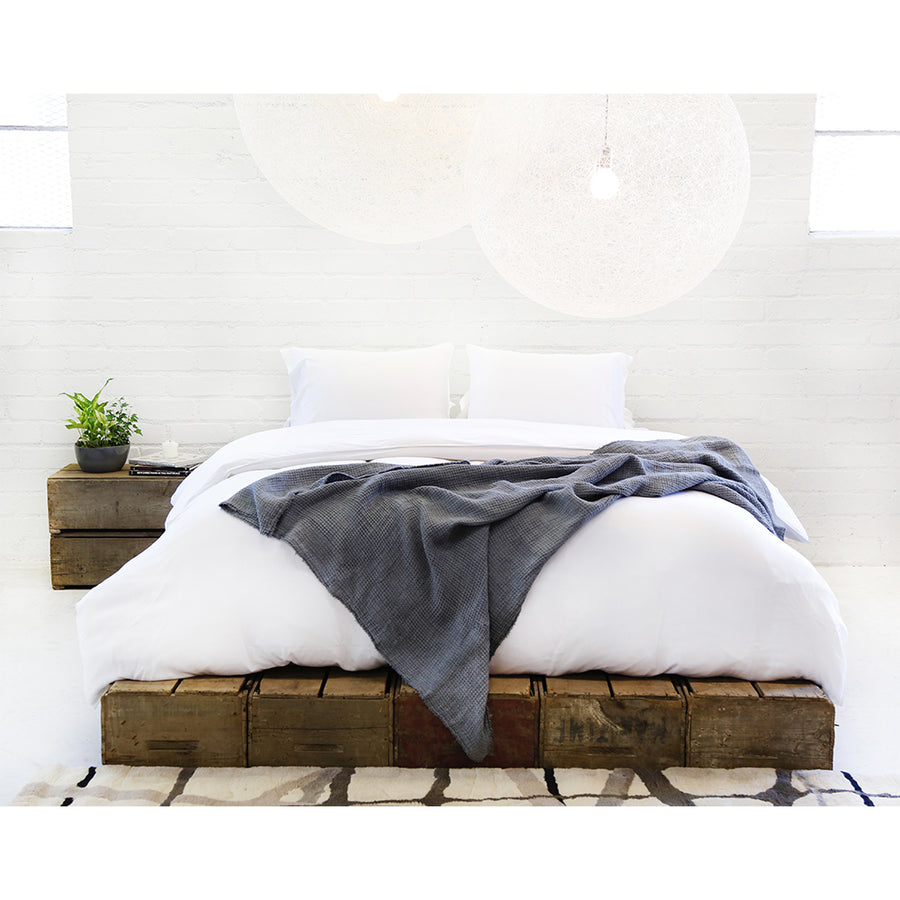 Bamboo duvet and shams set