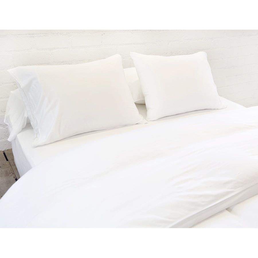 White Bamboo Duvet Cover