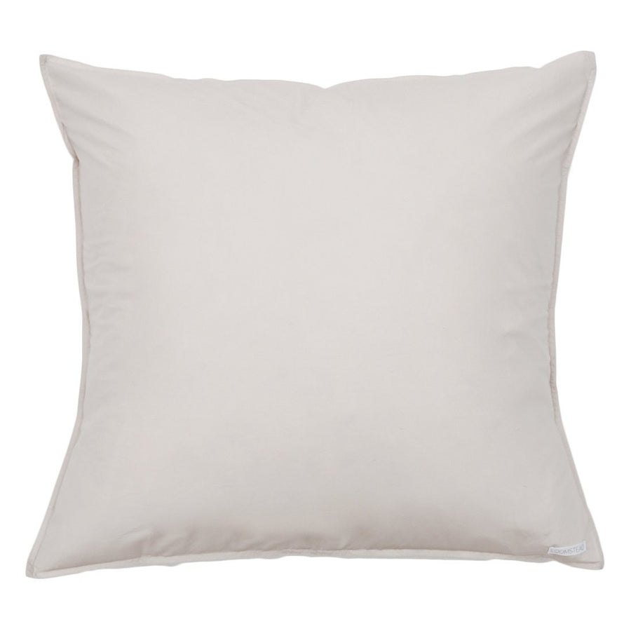 Cotton Euro Sham - Light Grey