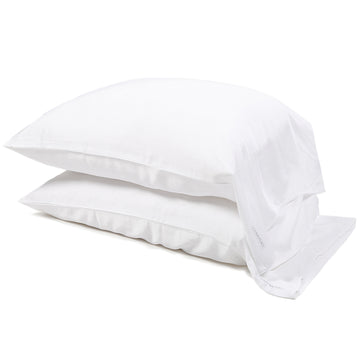 Bamboo Pillowcase Set - White (King Only)