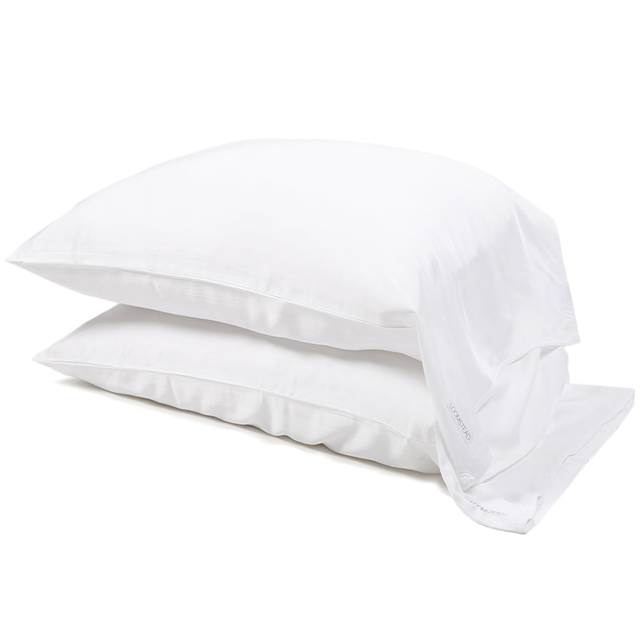 NEW! Bamboo Pillowcase Set - White
