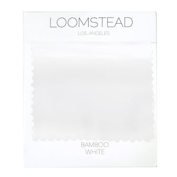 white bamboo swatch