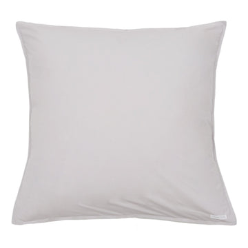 cotton euro sham light grey