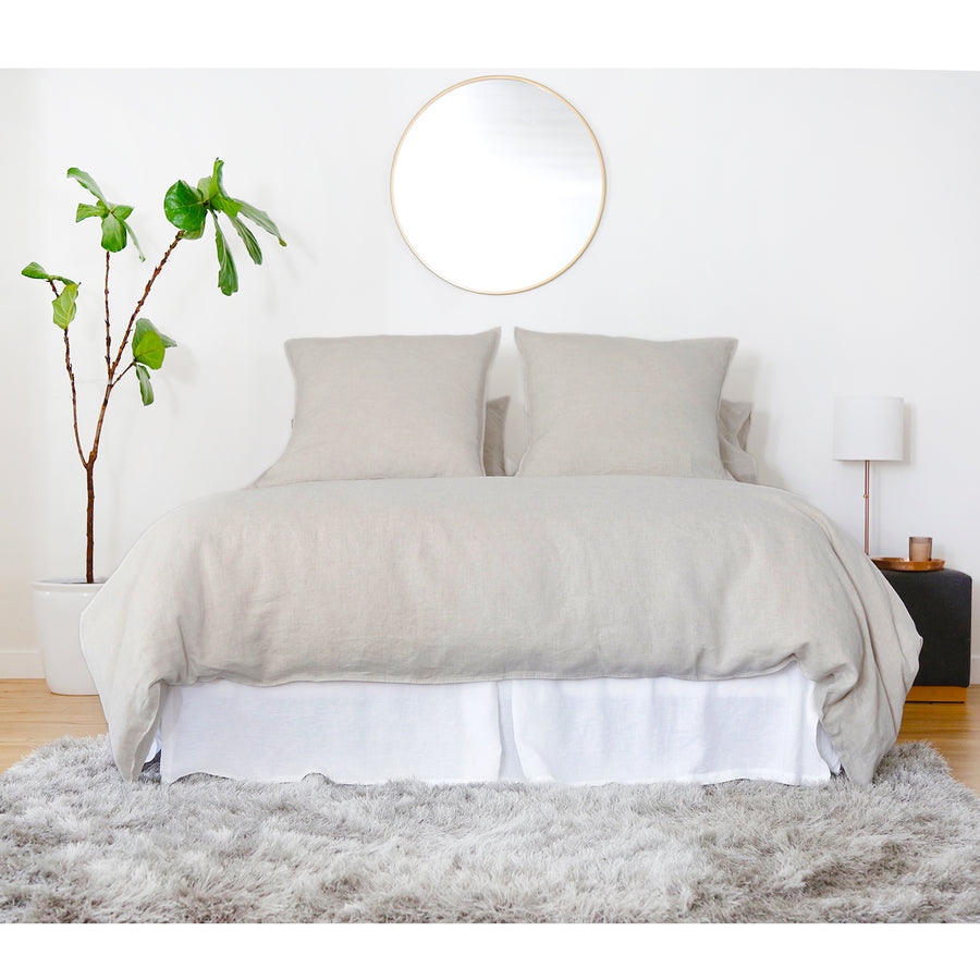 natural linen duvet set