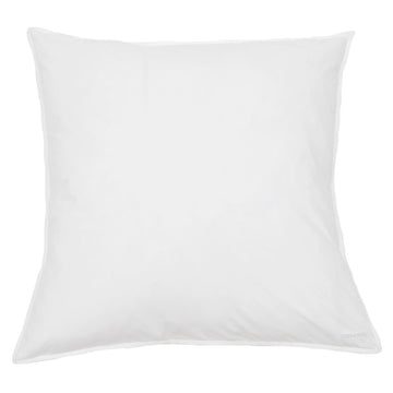 white cotton euro sham