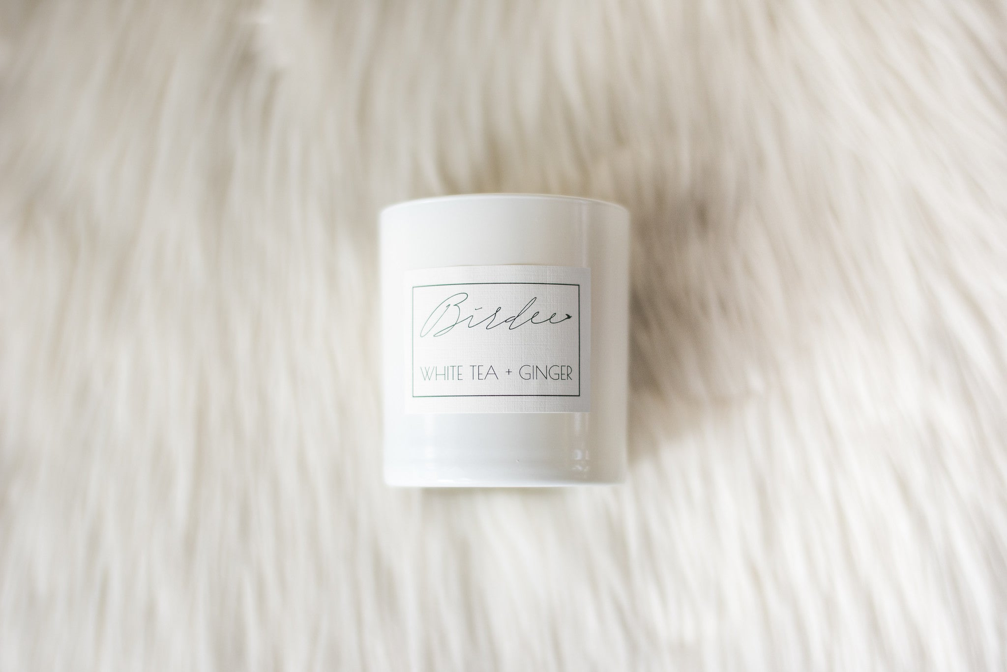 The Signature Collection All White Candle