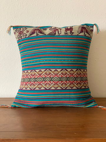 Peruvian Handmade Wool Pillow