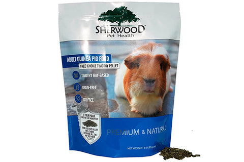 Sherwood Adult Guinea Pig Food - 2kg. - Korn og Soya fri !