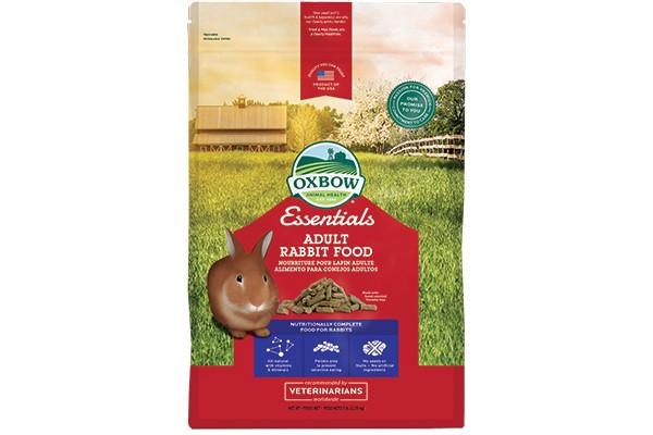 Oxbow Adult Rabbit Food - 4,55kg. - RabbitDK