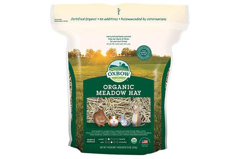 Oxbow Organic Meadow Hay - 425g. - RabbitDK