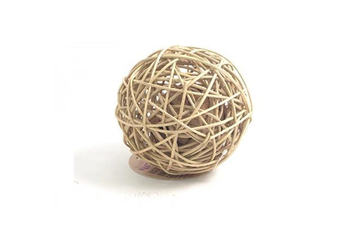 Rosewood Rattan Wobble Ball - Large - RabbitDK