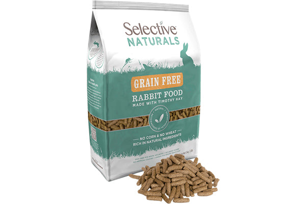 Selective Naturals Grain Free Rabbit Food 1,5 kg. - - RabbitDK