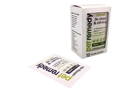 Pet Remedy beroligende Servietter - 12 stk. - RabbitDK