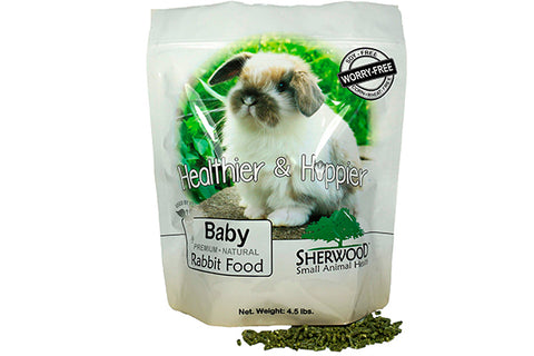 Sherwood Baby Rabbit Food - 2,04 kg. - Korn og Soya fri ! - RabbitDK