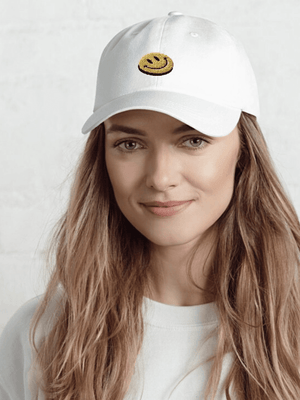 Smile Embroidered Hat