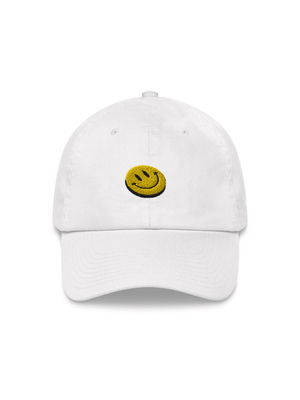 Smiley Embroidered Hat