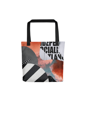 Le Collage Tote Bag