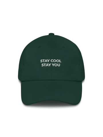 Stay Cool Embroidered Hat