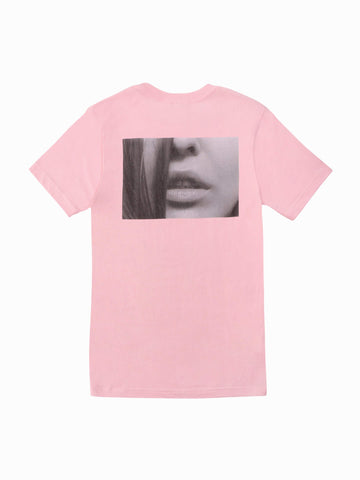 Kiss Tee - In Pink