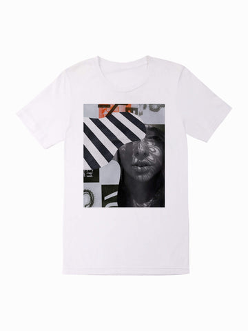 Le Collage Tee - In White
