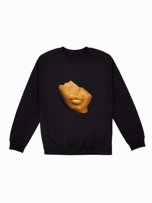 Sculpture Sweatshirt - In Black