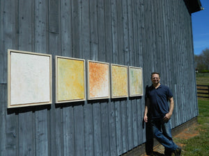 White Impressions - New Photos of the series! Tim Hovde's abstract landscapes on Virginia farm