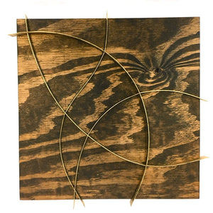 "Hovde Creates a New Form of Art on Wood Panels - Introducing ""Wooden Ribbons"""