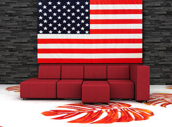 Abstract Painting + Abstract Landscape + Pooling + Contemporary Painting + United States Flag Art + Textured Abstract Art + Original Art + Oil Painting + USA FLAG Art + Canvas Wall Art + American Flag Art + Modern Art by #TimHovdeFineArt