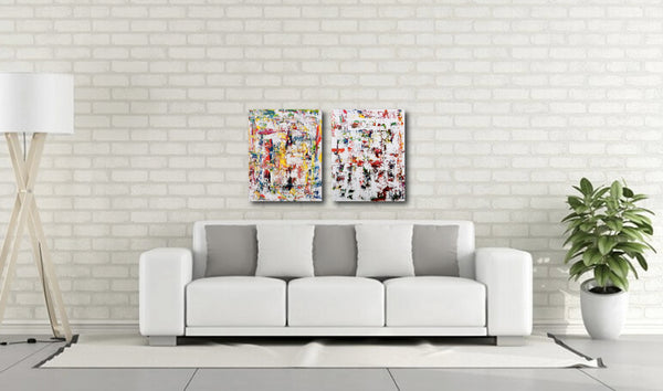 Abstract Painting + Abstract Landscape + Contemporary Painting + White Art + Textured Abstract Art + Original Art + Oil Painting + White Art + Canvas Wall Art + Modern Art by #TimHovdeFineArt