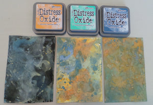 Distress Oxide Stamp Pads
