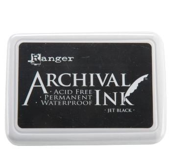 Ranger Archival Ink Pad, Jet Black